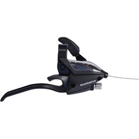 Shimano ST-EF500-4 Leviers de frein / de vitesse roue arrière 8 vitesses, black